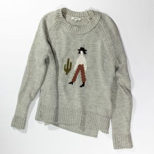 Madewell El Rancho Graphic Knit Pullover Sweater